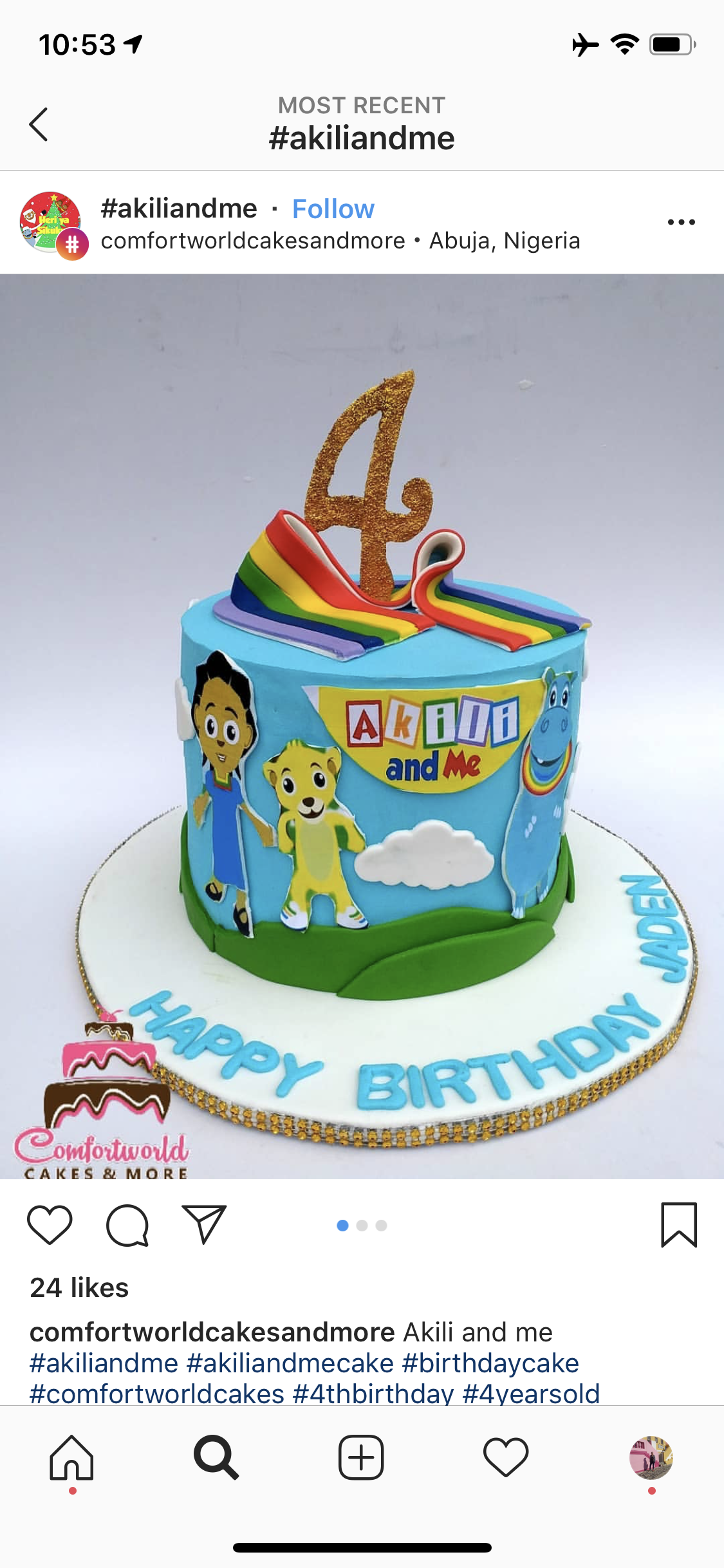 Awe Inspiring Akili And Me Birthday Cake Hand Painted Cookies And More Ubongo Funny Birthday Cards Online Fluifree Goldxyz